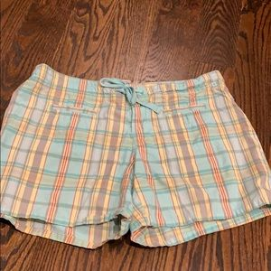 Gap plaid women's  shorts size 10